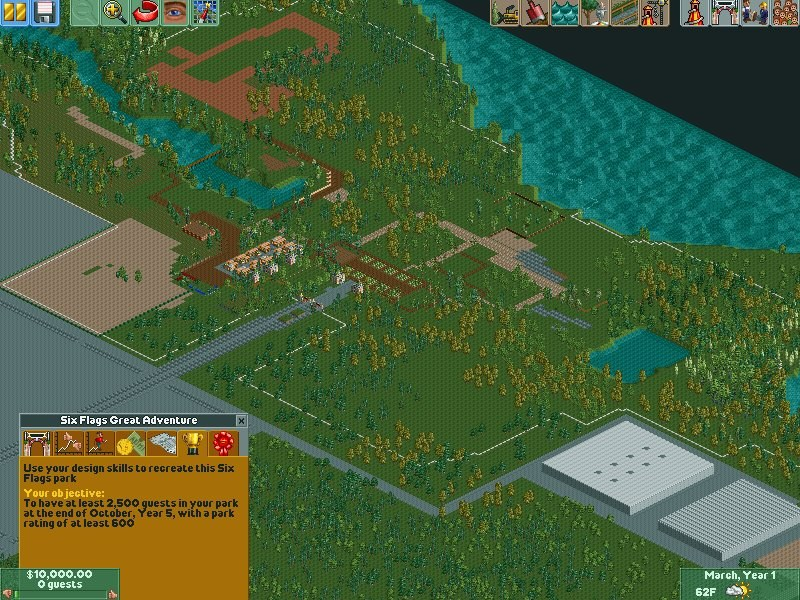 RCT 2 Saved Games